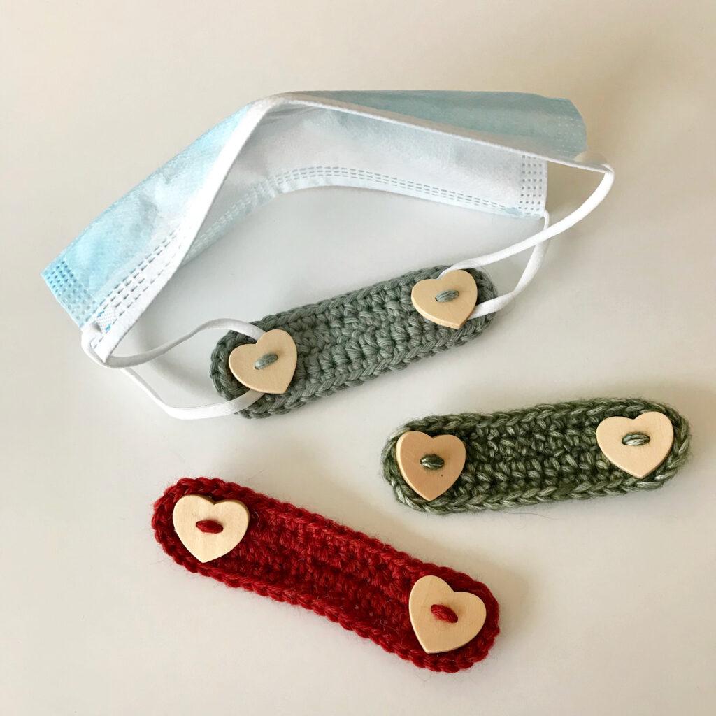 ørebeskytter / earsavers til mundbind